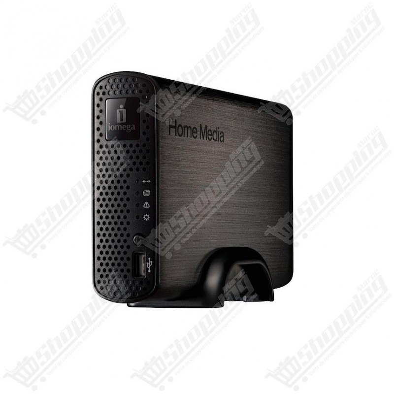"Iomega Home Media Network Hard Drive ""Cloud Edition"" 1 To"