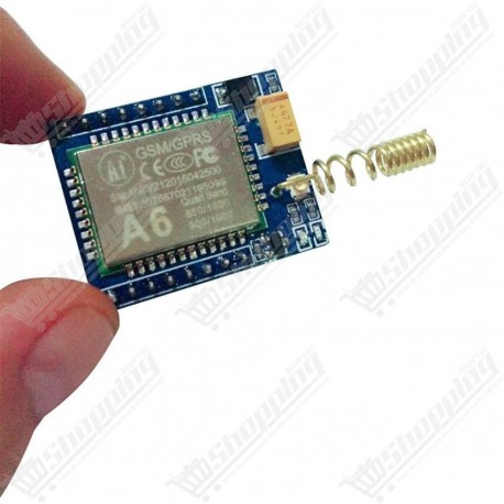 Module GSM GPRS A6 Mini voice call Quad Band + antenne