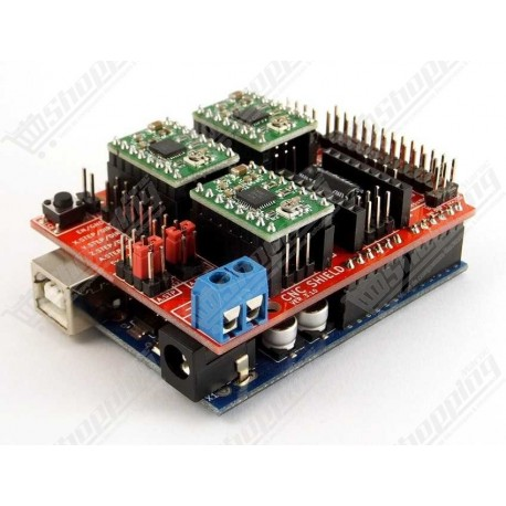 Carte d'extension du pilote A4988 - Cnc shield v3 - driver moteur printer 3d