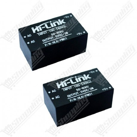 Alimentation HLK AC DC 220V to 5V 3W 0.6A