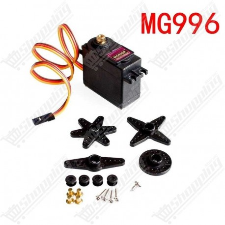 Servo moteur MG996 180° metal gear RC Servo High Speed & Torque