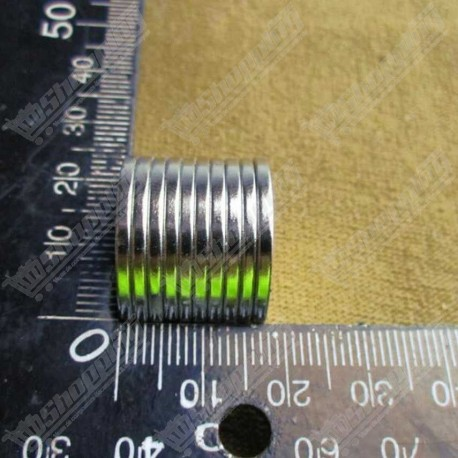 Aimant super puissant neodymium N52 rond 20mm x 2.00mm