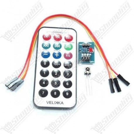 Kit 3 in 1 Remote Control + Receiver + N E C Coded