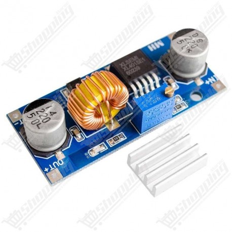 Alimentation ajustable 5A XL4015 DC - DC step down 1.25-35V