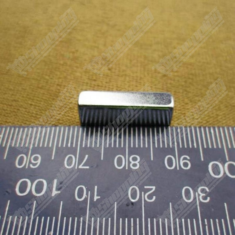 Aimant super puissant neodymium N52 rect 20mm X 10mm X 5mm