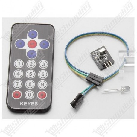 Kit Infrared IR wireless remote control module