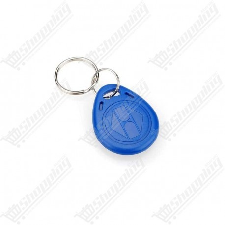 Porte clé badge RFID 13.56 Mhz tags re-inscriptible