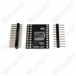 Microchip MCP23017 - i2c 16 input/output port expander for arduino raspberry