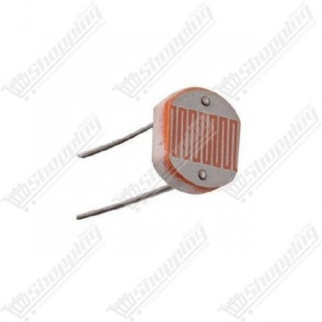 Photorésistance GL5539 5539 LDR light dependent resistor 5mm