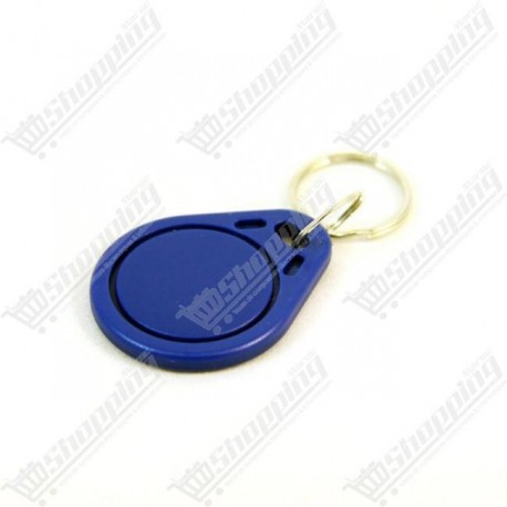 Porte clé badge RFID 125 Khz tags re-inscriptible