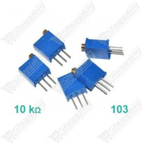 Potentiomètre ajustable 10K 103