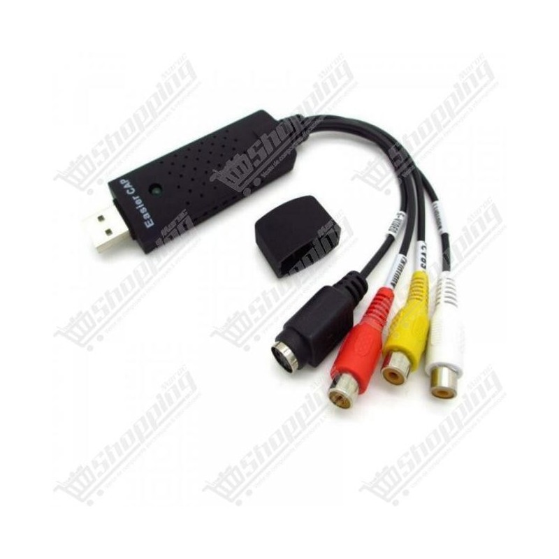 Easier CAP USB 2.0 capture tv dvd vhs vidéo audio