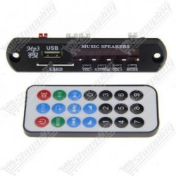 Module bluetooth MP3 SD USB FM + remote