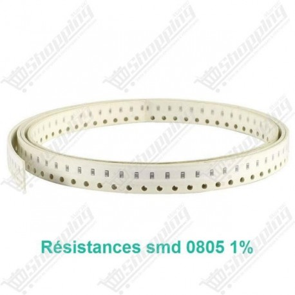 Résistance SMD 0805 1% 9.1kohm