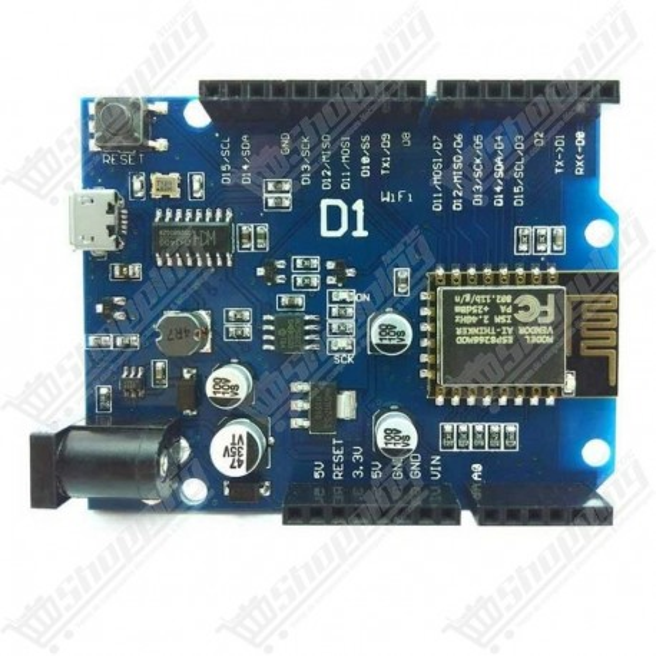NodeMcu Lua wifi Wemos D1 basé sur ESP8266 ESP-12E usb ch340