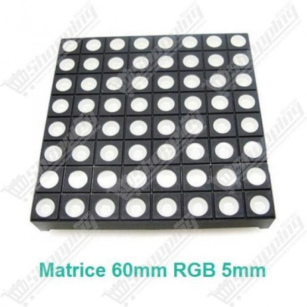 Matrice 60mm 8x8 led RGB full color