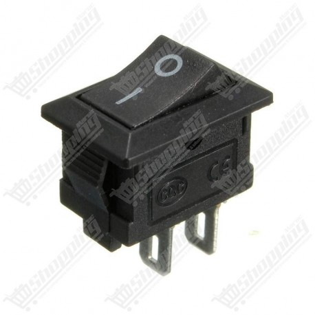 Switch Interrupteur marche arrêt on off 3 pins 20x15mm
