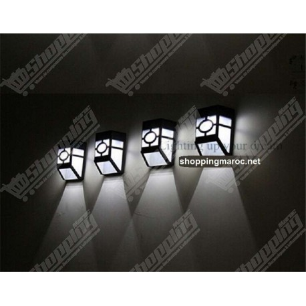 Lampes LED solaire ABS étanche rechargeable