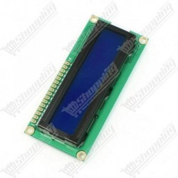 LCD 16x02 1602 affichage bleu 5v