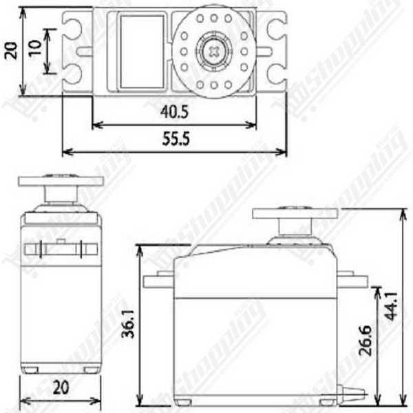 PCA9685 16-Channel 12 bits PWM Servo moteur pilote Module I2C Pour Arduino Robot