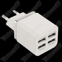 Chargeur 4 USB AC DC 220V to 5V 5.1A Multi Power Adaptateur