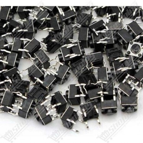 Boutton 6x6x5mm 4 pins