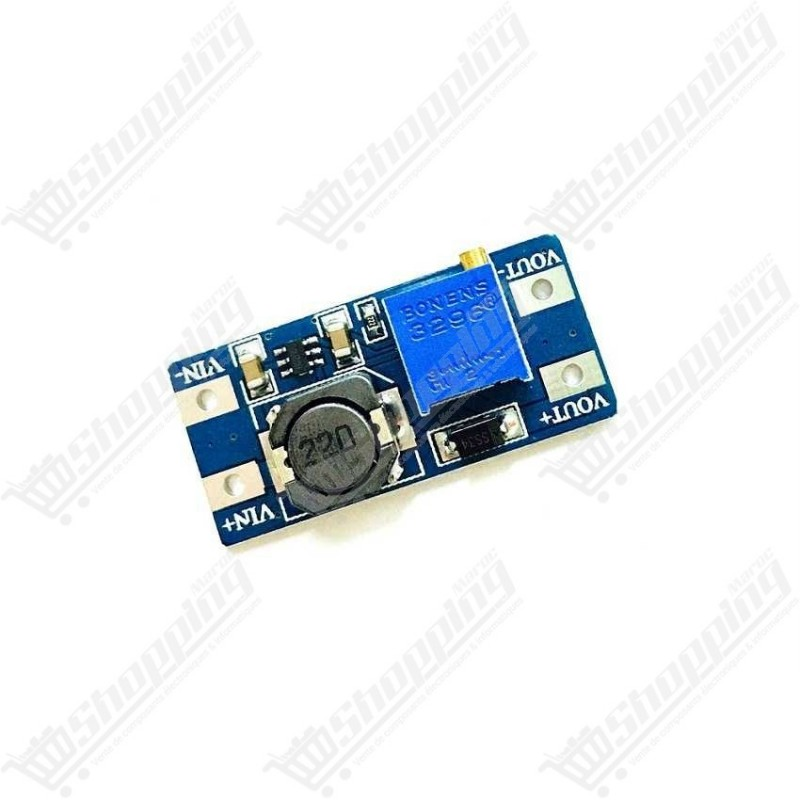 Alimentation ajustable DC-DC MT3608 2A Step Up Power Module Booster