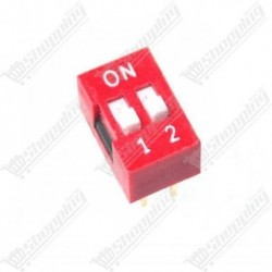 Switch 2 positions 2.54mm DIP 4 pins
