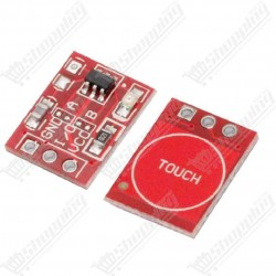 Module tactile boutton TTP223 - boutton ou switch on/off