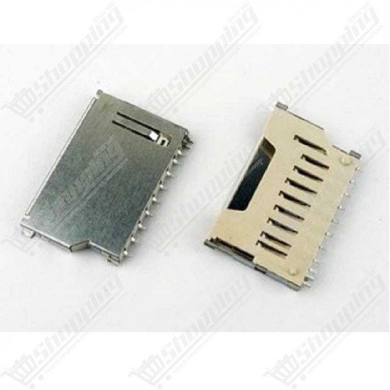 Mini support fente pour carte SD 9 pins connector
