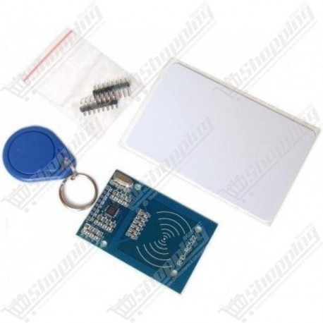 kit MFRC-522 RFID RF ic card + S50 White Card + Key Ring