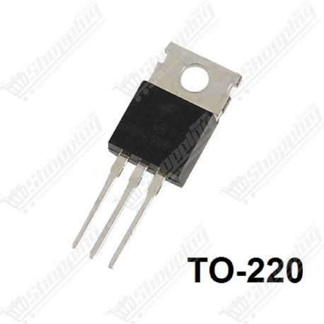 MOSFET IRF740 N-channel 400V 10A TO-220