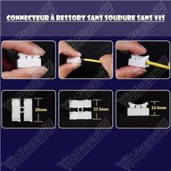 Voltmètre Ampèremètre Numérique DC 100V 10A