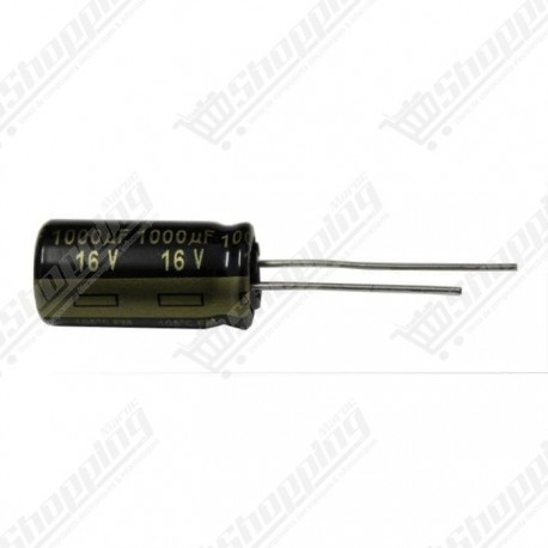 Condensateur chimique 1000uF 16V