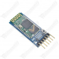 Module bluetooth HC-05 serial anti-inverse intégré 6 pins maître-esclave