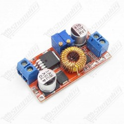 Alim. ajustable 5A XL4015 DC - DC 2 potentiometre step down rouge