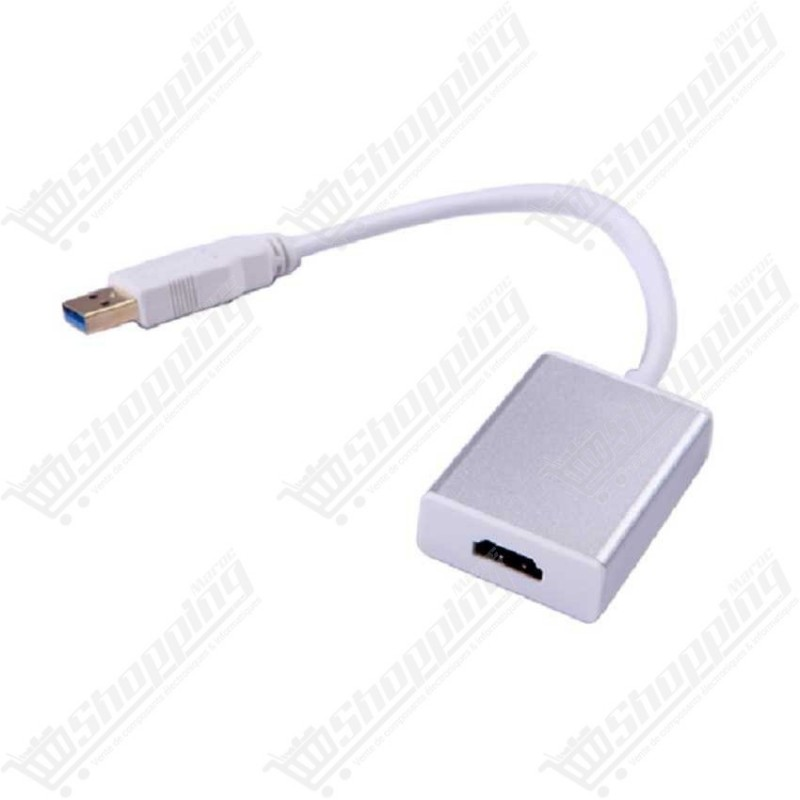 Adaptateur USB 3.0 to HDMI 20cm
