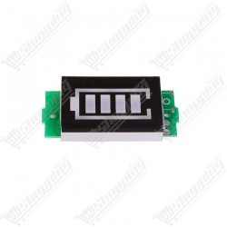 Lithium batterie 1S capacité indicateur Li-ion 3.7v 4.2v