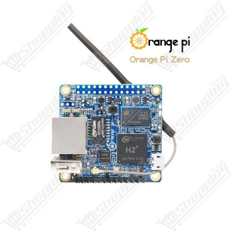 Orange Pi Zero H2+ quatre coeurs ARM cortex A7 512MB wifi