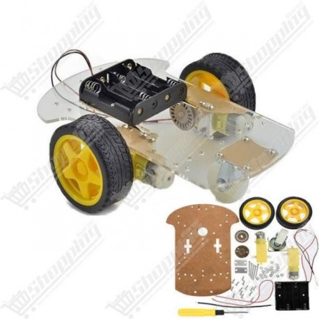 Kit motor smart robot car chassis 2WD