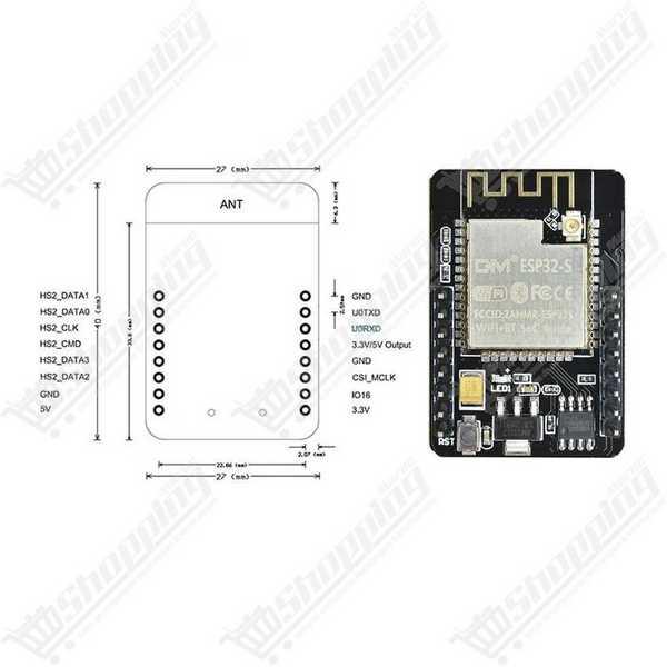 Module PH mètre 0-14 pour contrôle et surveillance + Sonde BNC Électrode de PH pour arduino