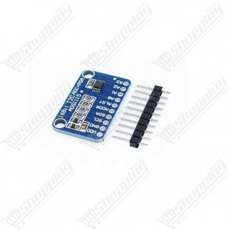 16 Bit I2C ADS1115 Module ADC 4 channel with Pro Gain Amplifier