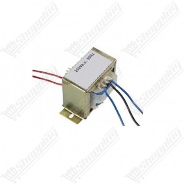 Transformateur 230 VAC - 2x6V 350mA