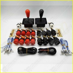 Kit for arcade to USB controller 2 players mame