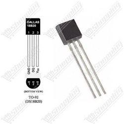Photorésistance GL5539 5539 LDR light dependent resistor 5mm
