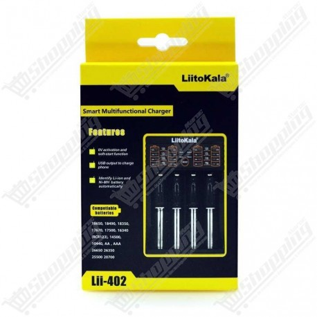 Chargeur batterie LiitoKala Lii402 multifonction - Power bank