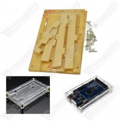 Boitier transparent en acrylique pour arduino mega r3
