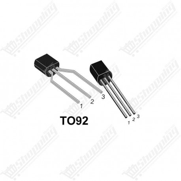 Transistor BC327 PNP 800mA 45V TO-92