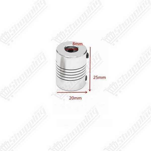 Mini tripied flexible 360° noir ou argent pour caméra et smartphone