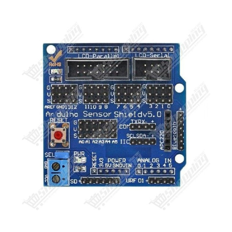 Shield v5.0 expansion board for arduino